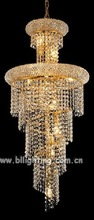 Gold deocr small bohemian crystal chandelier