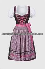 Mini Dirndl with blouse & apron / Trachten Dirndl Dress / Traditional Bavarian Dirndl