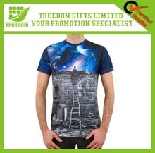 Fashion Design Promotional Customized Logo V Neck T Shirts For Men