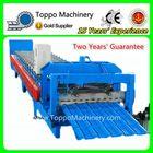 Glazed Steel High Rib Tile Roll Forming Machine