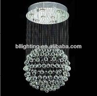 Modern indoor decoration hanging crystal lights for home