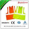 Fluoresent Cheap Traffic Safety Vest, Reflective Safety Apparel, Reflective Waistcoat