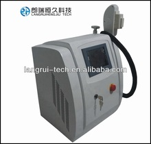 Portable sapphire, hair removal,face lifting,skin care,elight ipl+rf machine