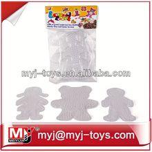 Venda direta de plástico perler beads projeto jogos educativos para crianças CT0010A
