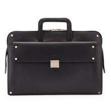 Men's genuine leather portfolio case