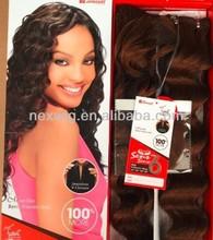 Tangle Free Wholesale Brazilian Futura Synthetic Hair European Deep Wave(6pcs)
