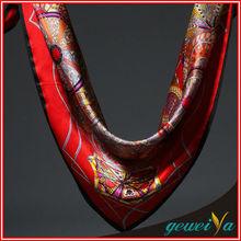 Designer 100% Digital Silk Scarves