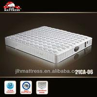 Best king coil pocket spring mattress from china mattress manufacturer 21CA-06