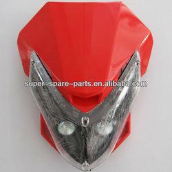 china high quality dirt bike headlamp 450cc head light