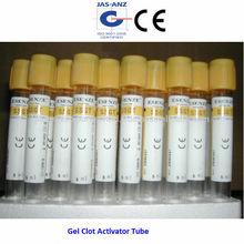 Gel coagulo tubo attivatore, arancione top ce approvato