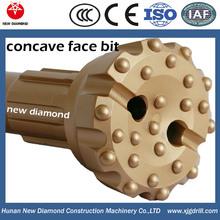 """6"""" concave face DTH bit"""