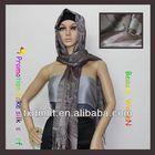 women muslim head scarf HTC377-5