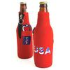 neoprene bottle koozie with opener