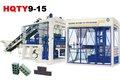 Alta Producting completa automática máquina de fazer bloco, Máquina de tijolo de concreto tamanho do bloco