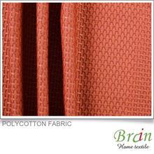 european classic Polycotton faux silk curtain fabric