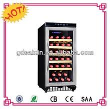 SRW-28S 28 bottles Freestanding Wine Cooler /90L bar wine cabinet