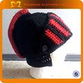 2014 mais desingner chapéu crianças e o melhor designer de recém-nascidos robô de malha chapéu do inverno do bebê do crochet garoto chapéus