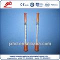 ( 0.5ml، 1ml) والابرة الأنسولين المحاقن المعقمة المتاح