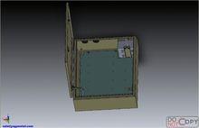 Indoor outdoor electric meter box key