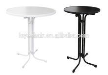 Factory Direct Folding Cocktail Table High Bar Table LED Design Bar Table Legs