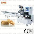 Automatique machine à emballer la pâte feuilletée/horizontale oreiller machine d'emballage d'œufs rouleau biscuit. jy-300/dxd-300
