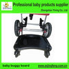Plastic Baby Buggy Board With 3 Wheels , Baby Stroller Board