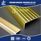 Stair Edge Protection/Brass Stair Nosing for Vinyl Floor