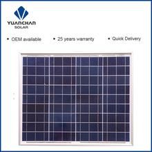 YuanChan Buy 50W Poly Nano Solar Panels
