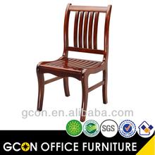 Antigo de madeira mobília da sala de jantar cadeiras clássicas utilizado para restaurante