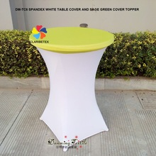 Wholesale Fancy Spandex Party Cocktail Table Cover, Highboy Stretch Table cover