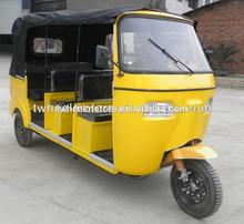 3Rows Bajaj Passenger Tricycle With Rear Engine, 200CC, Twheelmotors