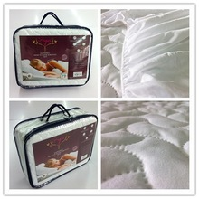 Microfiber brushed filled pinsonic mattress cover and Pillow Protector set