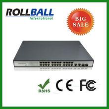 nice price 10/100M 24 port poe switch