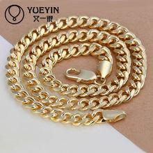 2014 18k gold neck chains for men