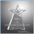 de vidrio de cristal trofeo estrella