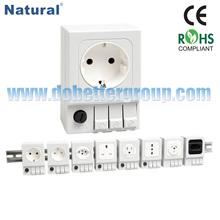 Electrical plug socket SD 035 (CE RoHS)