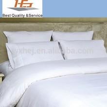 300TC/400TC Cotton bedding Sheet sets duvet cover set plain style