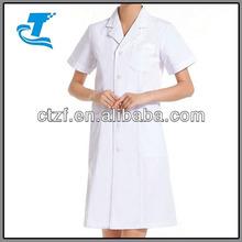 2014 Female Doctor Summer Short-sleeve White Coat