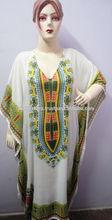 KTKF-1 Pure Rayon Fbric Kaftan African Style Printed From Jaipur Dakshi Printed Evening Wear Summer Kaftan For Ladies