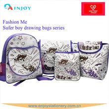 sufer boy series diy drawing bag set for child