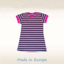 BABY GIRL DRESS - 100% organic cotton - casual plain dress