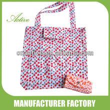 Printed folding bag/ shopping bag