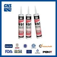 polyurethane glass sealant non toxic silicone sealant