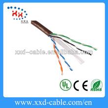 Free sample 4 pair 24AWG Utp Cat 6 Network cabling