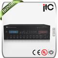 El cci de la serie ti-60mt 60w 120w 240w y el sistema de pa de zona 5 amplificador integrado con mp3 y radio
