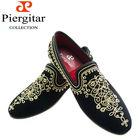 Wedding Shoes Black Men Velvet Loafer