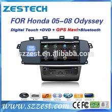 ZESTECH car dvd bluetooth usb gps interface wince for honda Odyssey