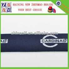 1.25 inch polyester jacquard custom elastic waistband for men's underwear