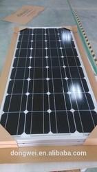 TUV certificate 85w monocrystalline solar panel module