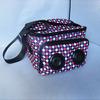 Factory Price Muti-function Built-in Audio Pepsi cola Speaker Bag for Phones